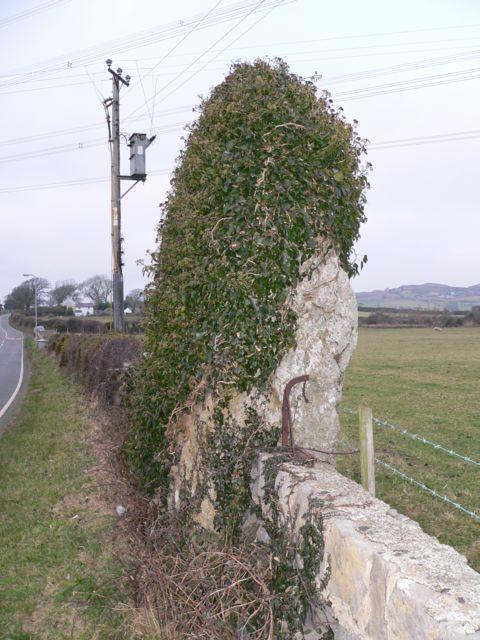 Maen Addwyn Standing Stone, near Capel Coch, Anglesey.