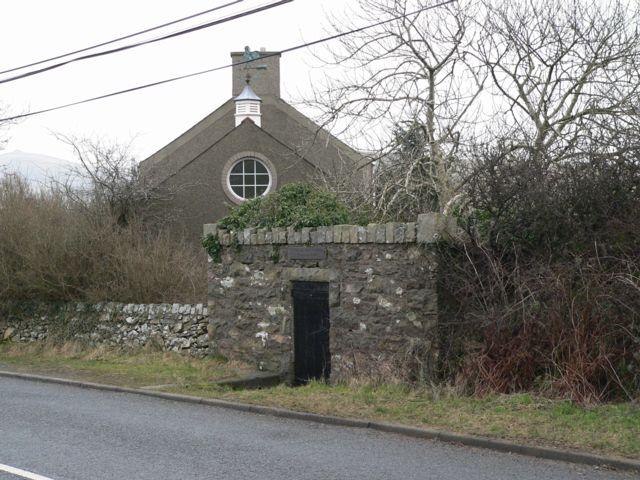 St. Aelhaearn's Well, Llanaelhaearn.