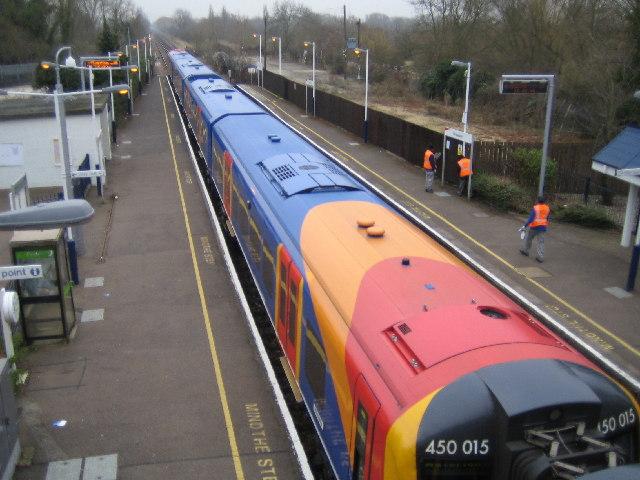 Wraysbury railway station