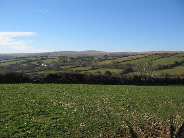 South Devon farmland