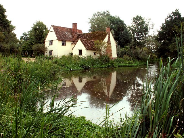 Willy Lott's Cottage, Flatford, Suffolk