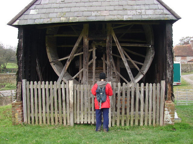 Saddlescombe Donkey Wheel