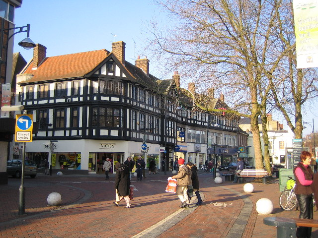 Watford: Market Street and High Street