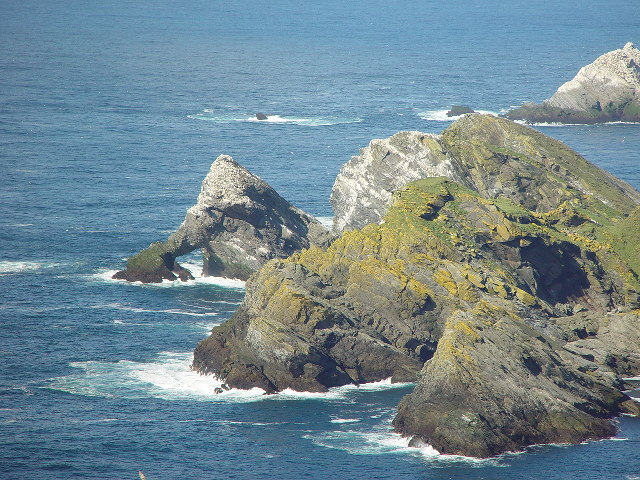The Greing and Humla Stack, Unst