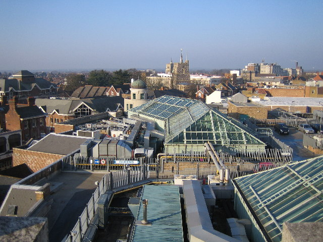 Watford: Town centre roofscape