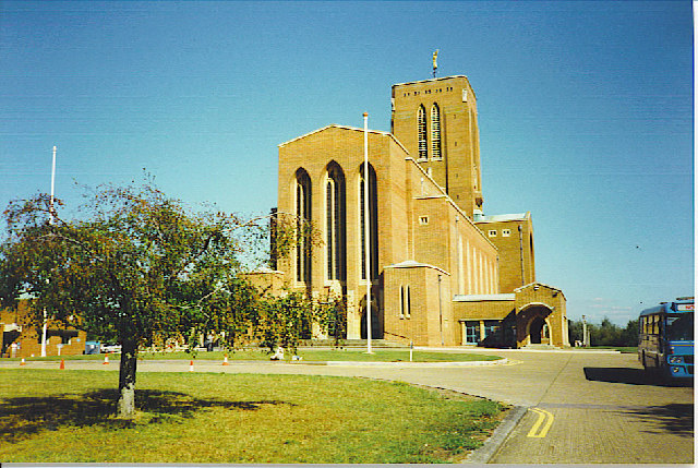Guildford Cathedral, the West Front.