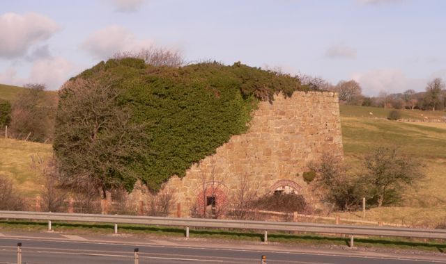 A Disused Lime Kiln near Lledwigan, Llangefni.