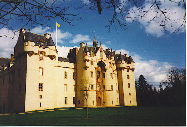 Fyvie Castle, the South Front.