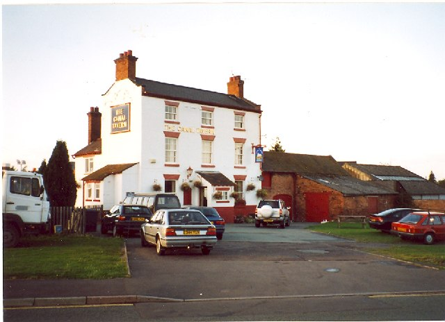 The Canal Tavern Public House, New Park Road, Shrewsbury