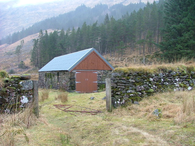 Farm building in Glen Shiel
