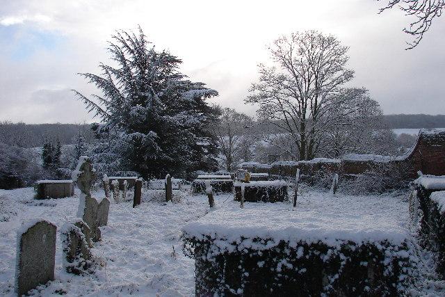 Barking church graveyard