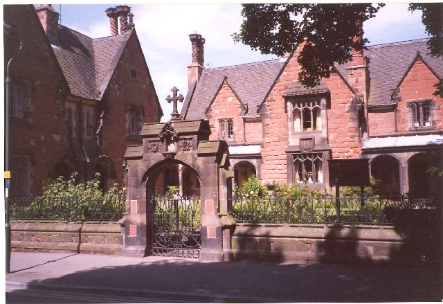 Hospital of the Holy Cross, Abbey Foregate, Shrewsbury
