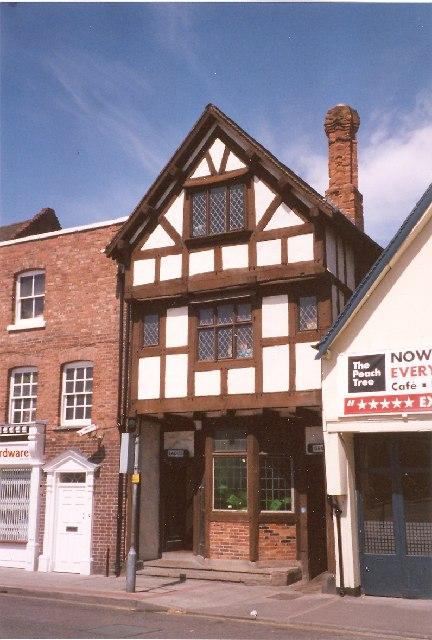 Public Conveniences in antique style, Abbey Foregate, Shrewsbury