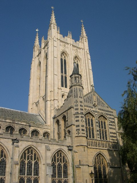 Bury St Edmunds Cathedral with new Tower