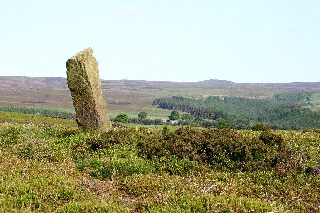 Roman Milestone on Pateley Moor