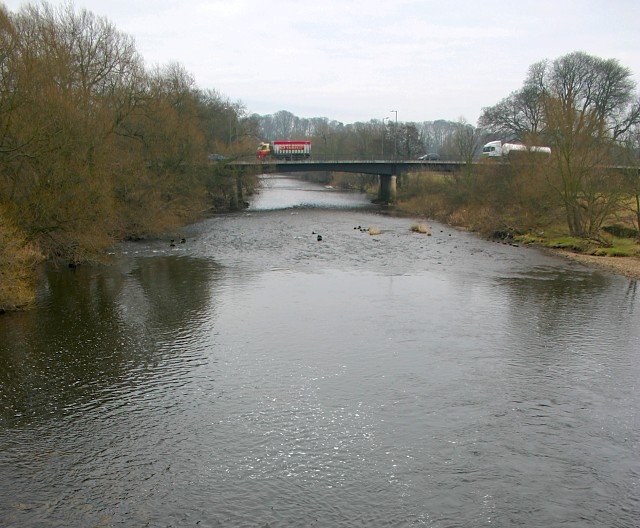 Ripon By-pass (A61) Crossing the River Ure