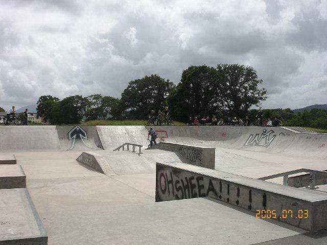 Unity skate park near Kingholm Quay
