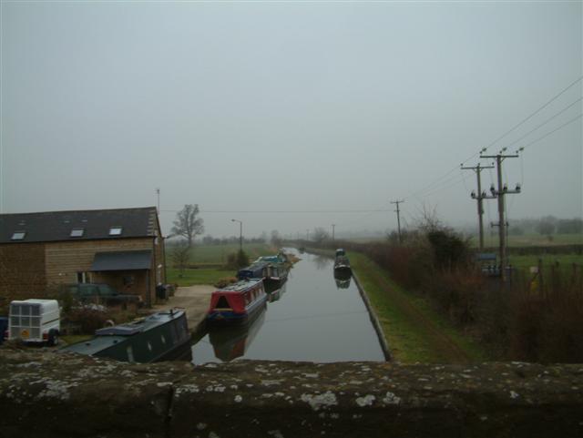 Oxford Canal from Twyford Road Bridge