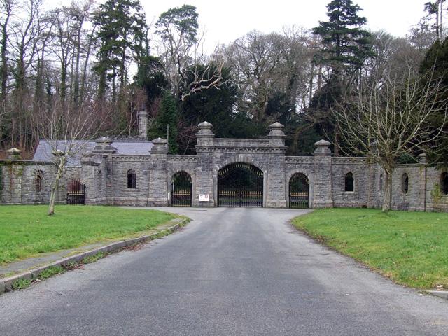 Entrance Gates to Vaynol