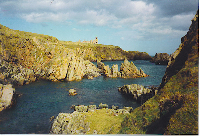 Cliffs South of Slains Castle.