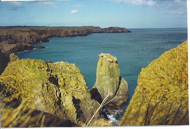 Cliffs North of Slains Castle.