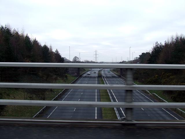 A55 road at Llandegai