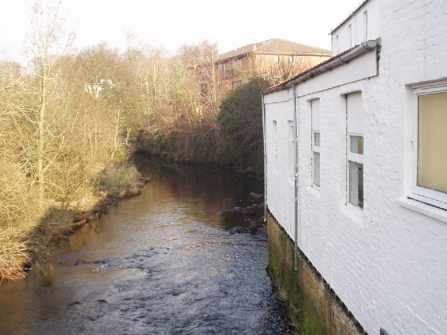 Old mill on River Cart