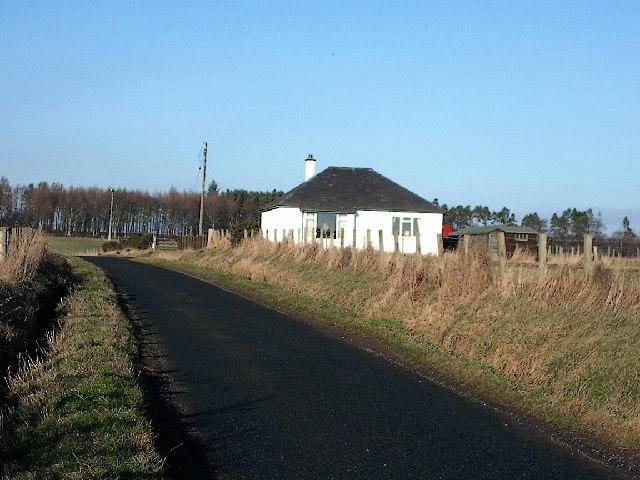 Cottage, Caldhambank. near Forfar