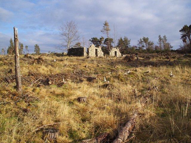 Little Swordale Old Farm Ruin