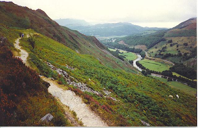 The Precipice Walk, near Dolgellau.