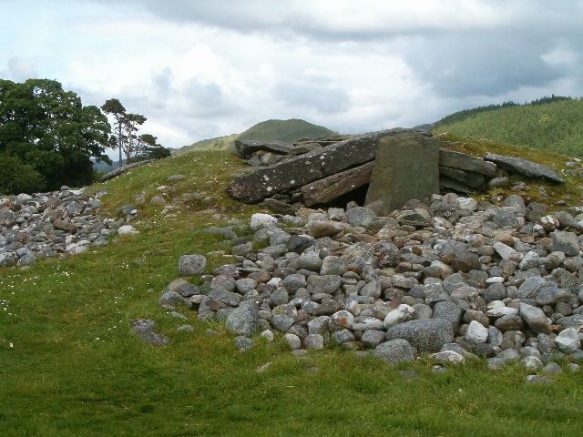 Nether Largie Cairn
