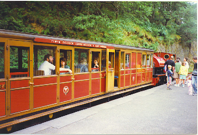 Nant Gwernol Station.