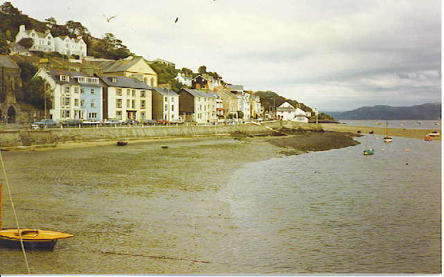 Aberdovey, on the River Dovey Estuary.