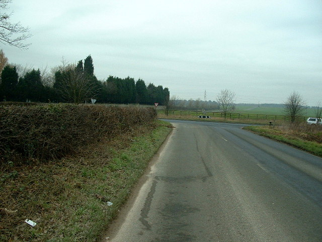 The  Junction of Melton Road and Cadeby Lane