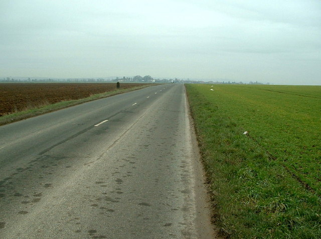 Cadeby Lane towards Cadeby