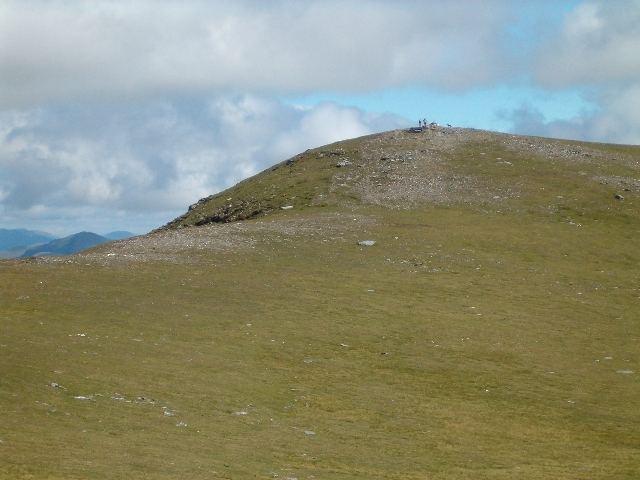 The summit of Beinn an Dothaidh from the west