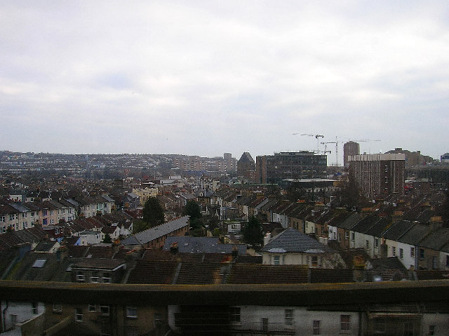 View of Brighton from the viaduct