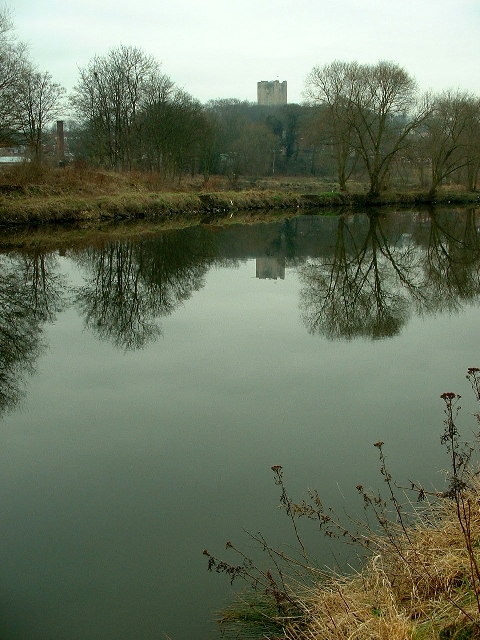 The River Don at Conisbrough