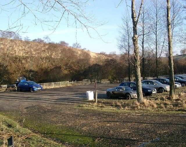 The car park in Glenartney