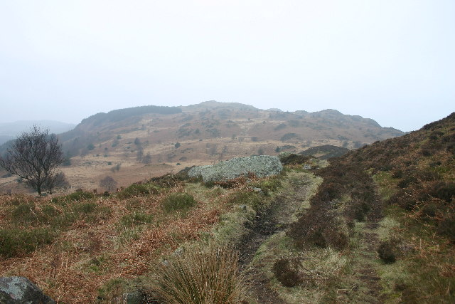 Footpath on Muncaster Fell