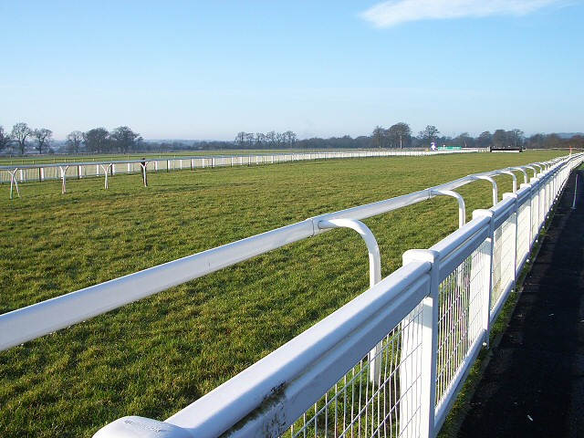 Perth race course at Scone