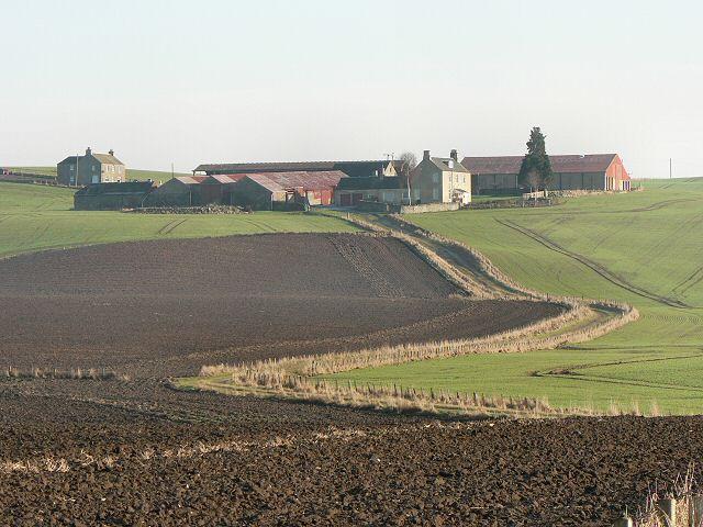Fields and track to Ardgilzean