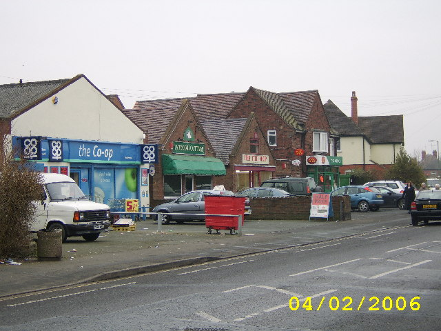 Monkmoor Road Shops