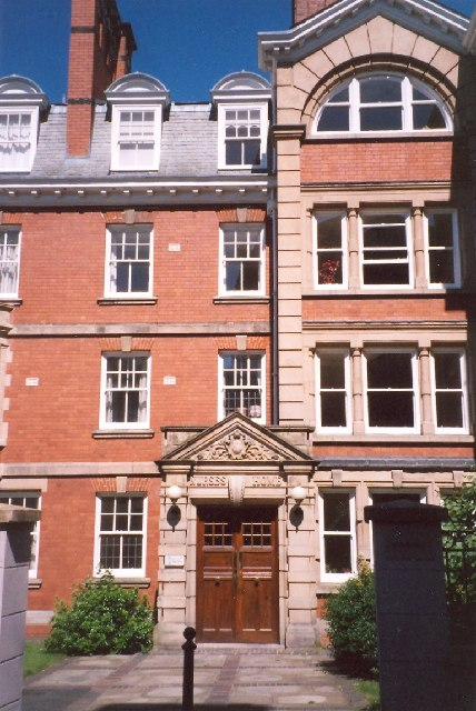 Former Nurses' Home, St Mary's Place, Shrewsbury