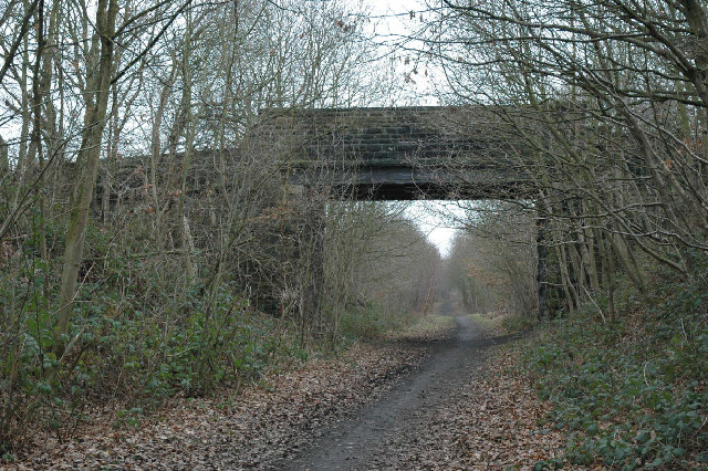 Bridge over Trans Pennine Trail