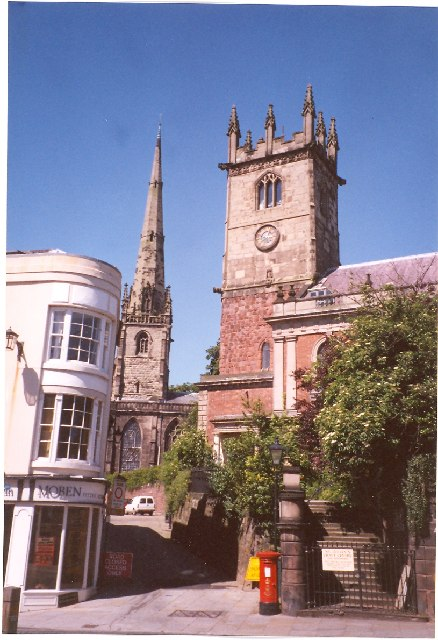St Julian's and St Alkmund's Churches, Shrewsbury