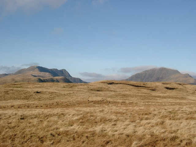The flat summit of Meall Odhar