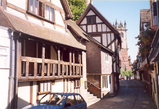 Bear Steps Hall, Fish Street, Shrewsbury