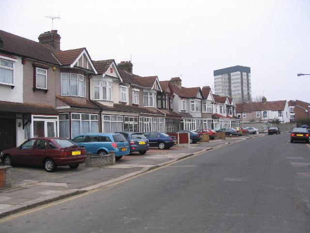 Gants Hill street scene