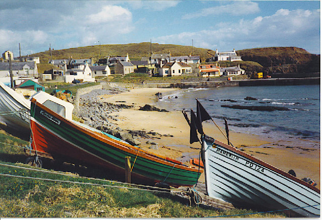 Lobster Boats at Collieston.